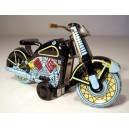 Moto Harley. Juguete de chapa hojalata