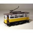 Tranvía Lisboa-Porto. Juguete de chapa hojalata